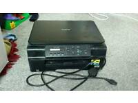 Printer (faulty). Scanner works.