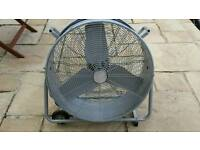 Large industrial fan 24'' diy workshop