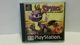 Spyro 2 gateway to glimer ps1 playstation one game