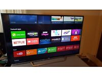 SONY 55-inch SUPER Smart 4K UHD HDR LED ANDROID TV-55XD7005,built in Wifi,Freeview HD,Fully Working