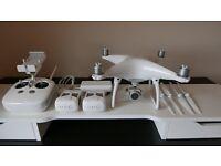 DJI Phantom 4 Drone and extra battery