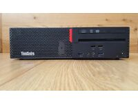 Brand New Lenovo ThinkCentre M800 SFF Intel Core i5-6400 Quad-Core 500GB HDD 4GB RAM Windows 10 Pro