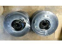 "4 New Ford / Mazda Steel Rims - Wheels 15"""