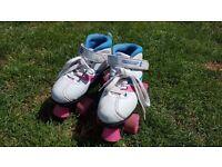 Girls Size 1 (33) Roller Skates