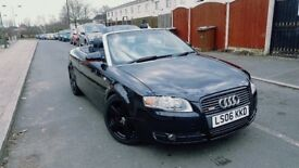 Audi A4 Cabriolet 1.8 T S Line Cabriolet 2dr 2006 Convertible drives brilliant roof fully working