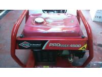 PORTABLE PETROL GENERATOR 4.2 KVA BRIGGS AND STRATTON