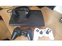 PS3 upgraded hardrive bundle