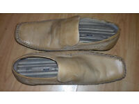 Free cream mens formal shoes size 9
