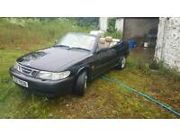 1999 Saab 93 convertible