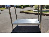 Stainless Steel Commercial Sink Under Frame 100cm