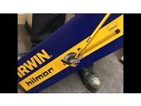 NEW Irwin Hilmor GLM Pipe Bender