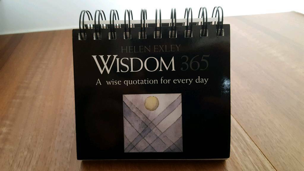 Helen Exley Wisdom 365 - A wise quotation for each day.