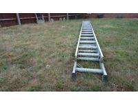 Aluminium ladder 2*4.5m