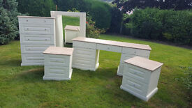 Bedroom Furniture from Daval - Dressing Table, Chest of Drawers, Bedside Cabinets, Mirror