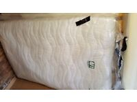 4ft small double mattress.