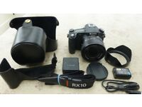 Sony RX10 camera and case, excellent condition