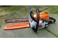 """Stihl petrol chainsaw MS171/C 14"""""""