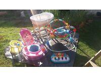 various baby items job lot