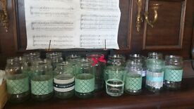 170 Wedding decorated jars
