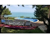 Lovely villa with amaizing sea view ,private pool and jacuzzi,Albena,Bulgaria