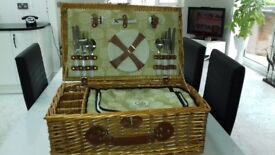 Wicker Picnic Basket Brand new. Good quality