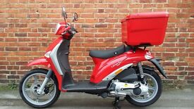 Piaggio Liberty 125 Delivery Scooter
