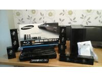 Samsung HT-C6500 Blu ray Dvd player and surround system