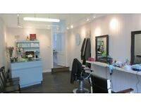 chair rental for a barber or hairdresser glasgows west end locale
