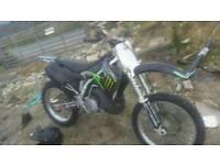 Mint 2002 kx250 + 2005 husqvarna cr125