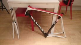 MEKK Poggio carbon bike frame and fork 57cm size L