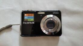 Fujifilm FinePix AV200 Digital Camera - Black (14MP, 3x Optical Zoom)