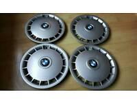 """BMW 3 Series 14"""" Wheel Trim Set 1982-1993 E30 GENUINE BMW Part No 36131179170"""