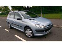 Peugeot Estate 1.4L 2005 - ONLY 57,000 GENUINE MILES - FULL 1 YEAR MOT -