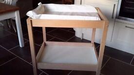 Ikea baby change table