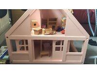 ELC rosebud cottage and furniture