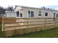 Brand New Static on lovely quiet and green Residential Park in Dornoch