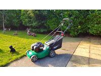 Qualcast 41cm petrol lawn mower self propelled