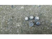 Ford looking wheels nut set fiesta focus fusion