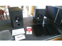 Cambridge Audio SX60 Speakers Full Working Order Mint Boxed £100 OVNO