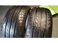 225 50 17 2 x tyres Champiro FE1 GT Radial
