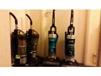 Assorted HOOVERS Hurricane, Blaze, & Turbo Power Bagless Vacuum Cleaners (£20 each) 2300W POWER
