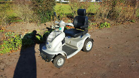 NEW BATTERIES TGA Breeze 8mph Mobility Scooter + Canopy 3 Month Guarantee