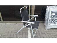 CLEARANCE STOCK METAL FRAME FOLDING GARDEN/PATIO CHAIR CAN DELIVER