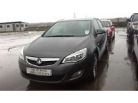 **FOR BREAKING** 2013 VAUXHALL ASTRA (CHOICE OF ENGINES).