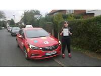 Automatic & manual driving lessons in Nottingham.
