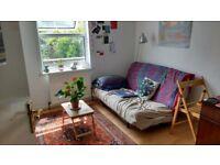 Sunny double bedroom in lovely houseshare for August