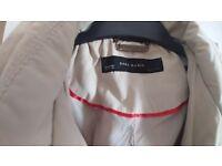 Zara rain coat and belt