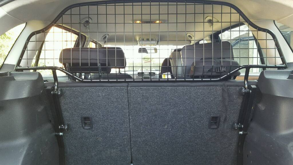 Skoda Fabia Estate Dog Guard Genuine 5Jin Blandford Forum, DorsetGumtree - Genuine Skoda Dog Guard for a Fabia Estate mk2 08 14.2 years old.Excellent Condition.Can be removed quickly without tools.Cost me £120 from Skoda Dealership