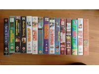 VHS Video Tape Bundle