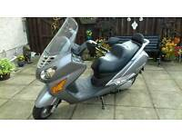 HYOSUNG MS3 SCOOTER 125CC 2008 FULL MOT